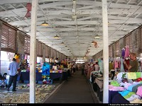 Photo by Bernie | Charleston  market, shops, people