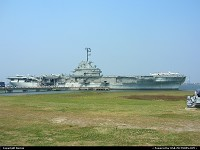 Photo by Bernie | Charleston  aircraft carrier