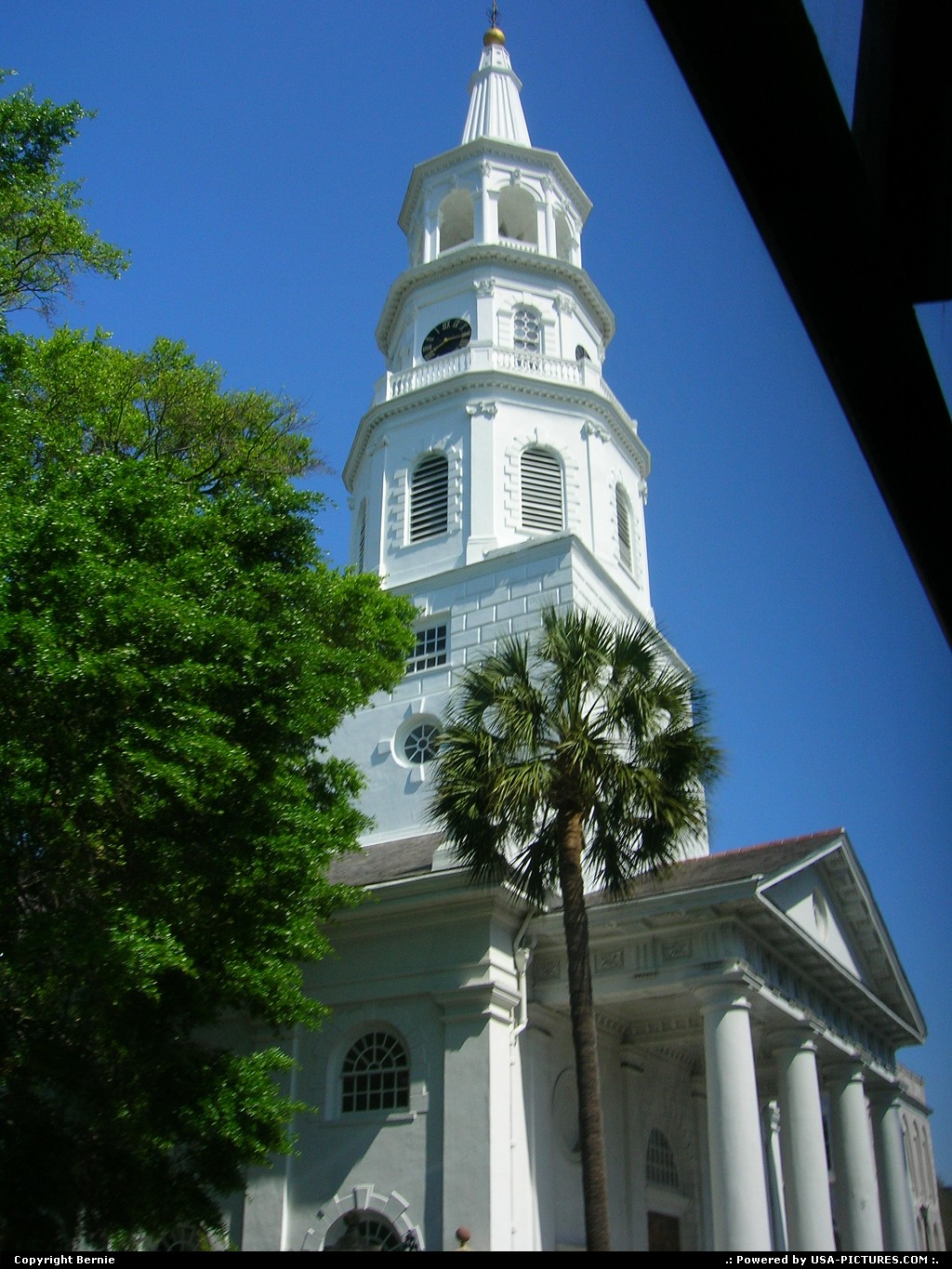 Picture by Bernie: Charleston South-carolina   church, protestant