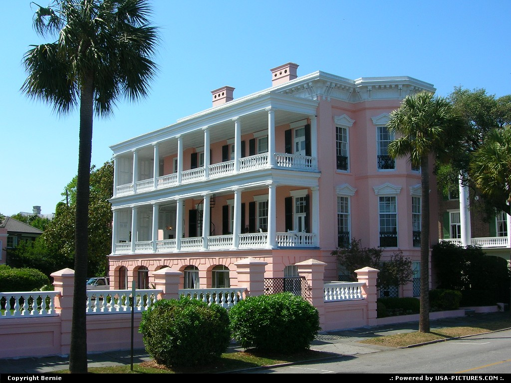 Picture by Bernie:CharlestonSouth-carolinahouse, colonial