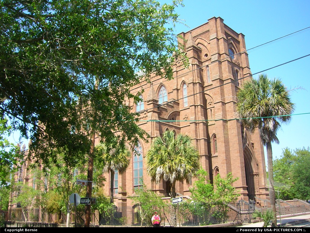 Picture by Bernie: Charleston South-carolina   church