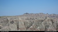 Bad lands in the Badlands