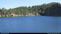 South-dakota, Legion Lake in Custer State Park