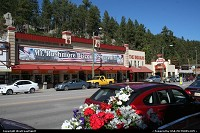 Keystone : Keystone, main street with numerous retails and restaurants. Gateway to Mount Rushmore.