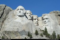 South-dakota, Maybe one of the major American cliché. Mount Rushmore is an amazing moutain carving, features Presidents. Just amazing. Located in the Black Hills National Forest. Worth a visit without a doubt!