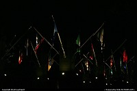 Not in a city : Flags Avenue, Mont Rusmore, by night