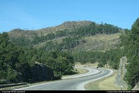 Black Hills National Forest, en route to Mount Rushmore