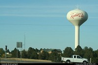 South-dakota, Rapid City' water tank, on the road to Mount Rushmore