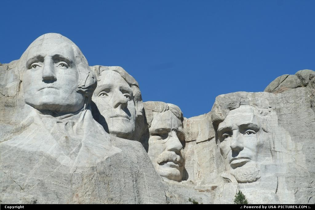 Picture by WestCoastSpirit: not in a city South-dakota   mount rushmore, black hills