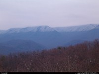 , Gatlinburg, TN, Gatlinburg TN. snow topped mountians