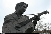 Tennessee, Elvis statue, no need to tell you about Elvis, he died to early, some think he is still alive !!!