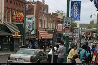 Beale street in Memphis, that's where it rocks !!