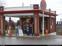 , Tazewell, TN, Tazewell, TN.Restored gas station