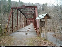 , Wartburg, TN, Neno bridge, Wartburg, TN