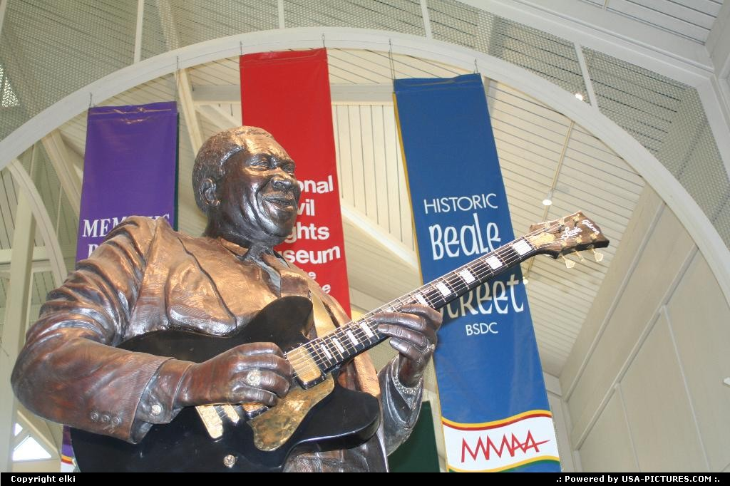 Picture by elki: Memphis Tennessee   memphis bbking