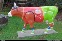 , Austin, TX, Cow art in Austin, TX