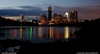 Photo by LoneStarMike | Austin  skyline, skyscraper, waterfront