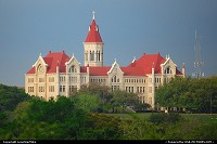 Austin : St. Edward's University photographed from Blunn Creek Wilderness Preserve