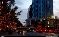 Congress Avenue in Downtown Austin, TX