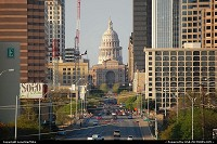 Texas, Looking north up Congress Avenue towards the Texas State Capitol