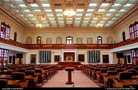 Austin : Texas Representatives chamber in the State Capitol