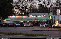 The Green Mesquite on Barton Springs Rd. This section of Barton Springs Rd. is known as