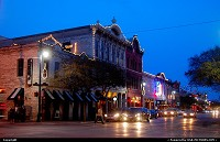 , Austin, TX, Sixth Street in Austin, TX at Christmas