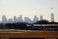 Texas, Dallas Skyline from Dallas Love Field