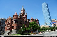 Photo by elki | Dallas  Dallas old court of justice