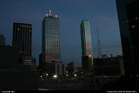 Photo by elki | Dallas  Dallas downtown @sunset
