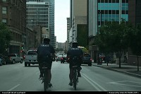 Photo by WestCoastSpirit | Dallas  police, bike, dowtwon