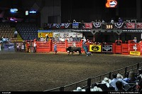 Rodeo at the livestockyards in historic district, fortworth. 2 hours of 100% pure Texas show and ambiance. Something to see at least once, that's for sure!