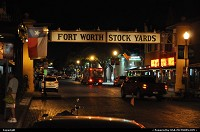 Texas, Forth Worth Stock Yards in historic district, right after the rodeo and before a great dinner in one of the numerous steak house, for a Texan T bone steak, of course!