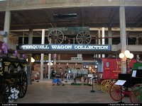 Fort Worth : Cowboy Hall of Fame hosts a large wagon collection browsing all kind of purposes