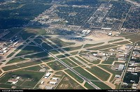 Photo by LoneStarMike | Houston  airport, aerial