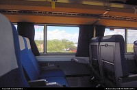Onboard Amtrak's Texas Eagle somewhere in Central Texas