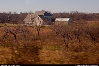 Texas, Farmhouse in rural Texas from Amtrak's Texas Eagle