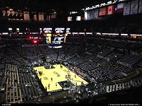 , San Antonio, TX, AT&T Center getting ready for yet another playoffs game tonight. Oklahoma city is going to suffer tonight, GO SPURS GO!