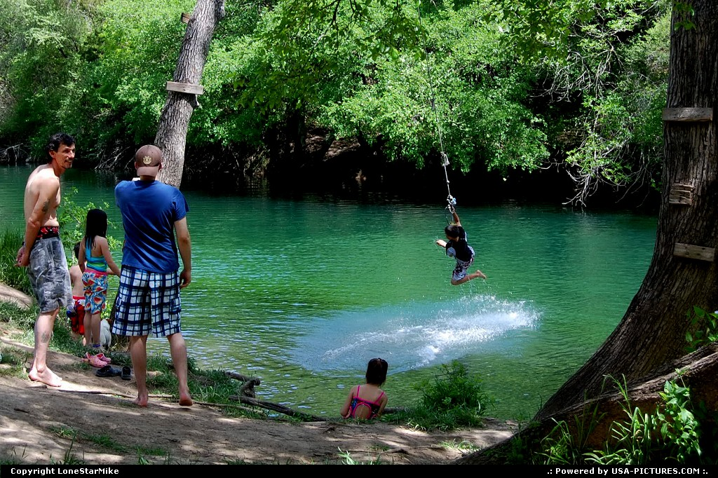 Picture by LoneStarMike: Austin Texas   creek, greenbelt, swimmers