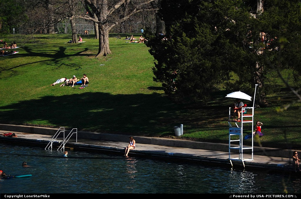 Picture by LoneStarMike: Austin Texas   pool, park,