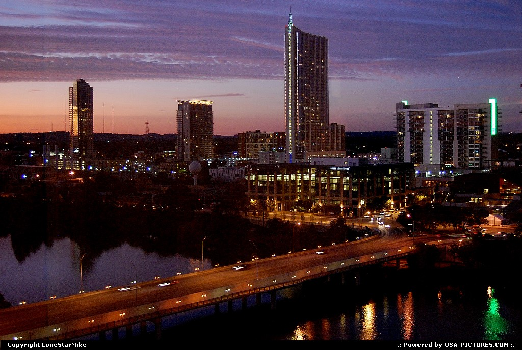 Picture by LoneStarMike: Austin Texas   skyline