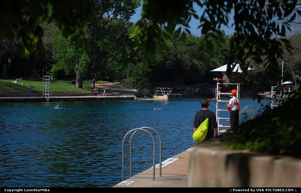 Picture by LoneStarMike: Austin Texas   park, pool, swim