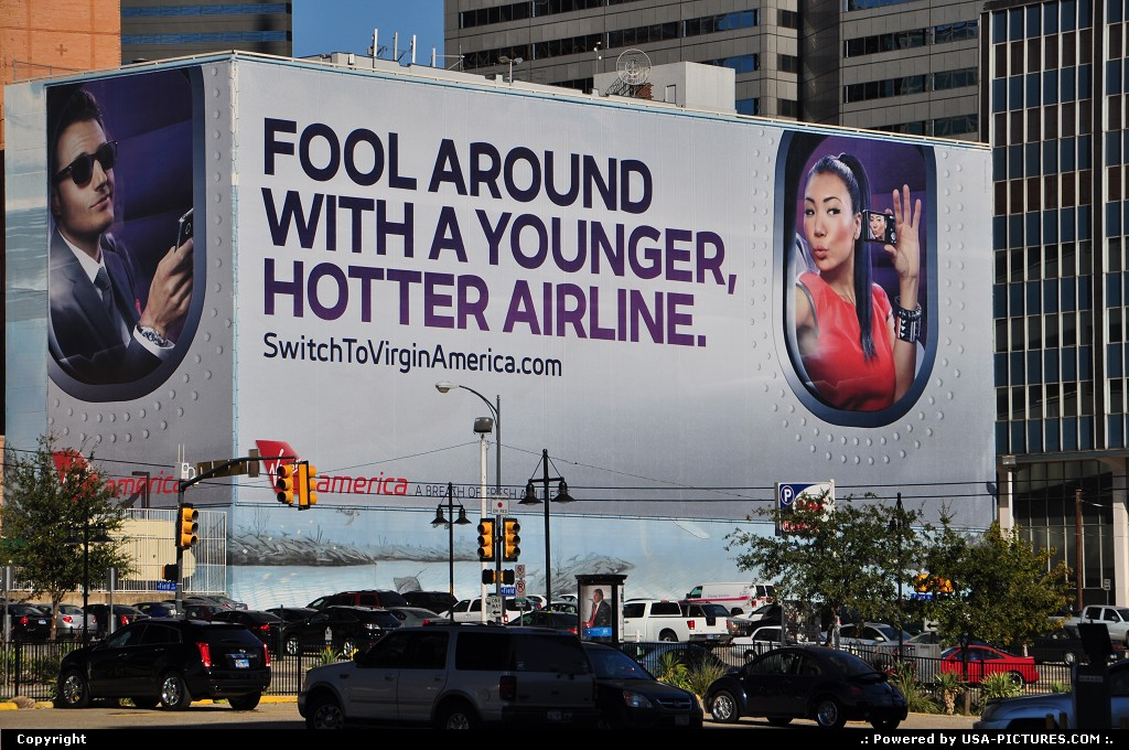 Picture by WestCoastSpirit: Dallas Texas   virgin america, sfo, aa, american, dfw, plane, airbus, boeing