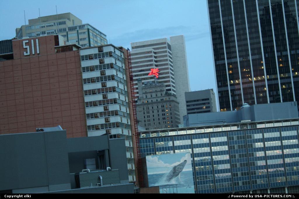 Picture by elki:DallasTexasDallas building, mobil pegasus