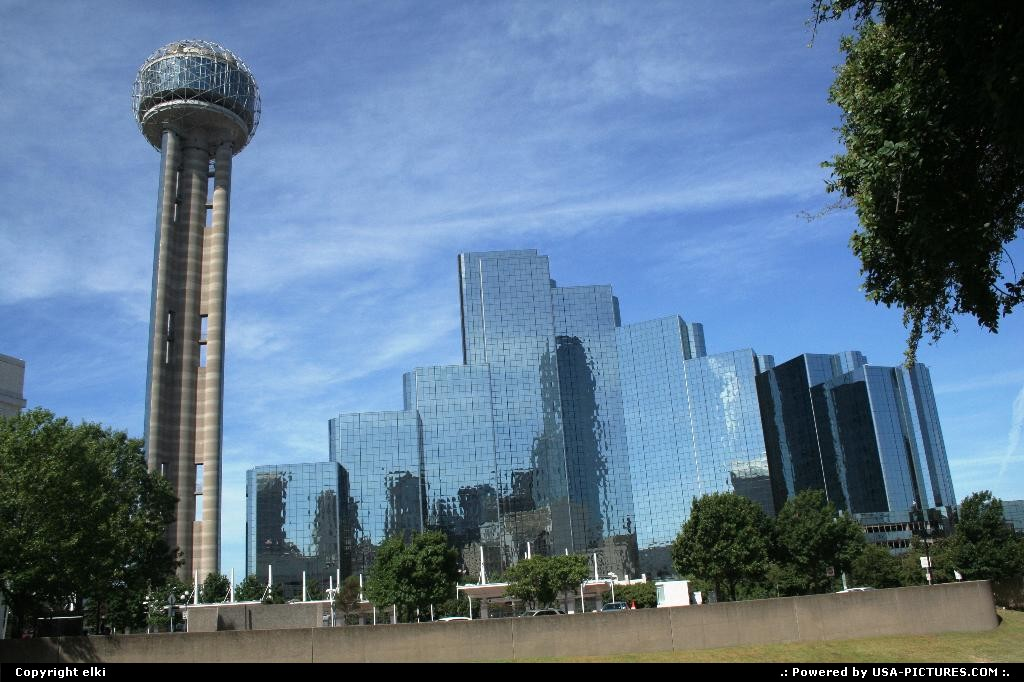 Picture by elki:DallasTexasreunion tower