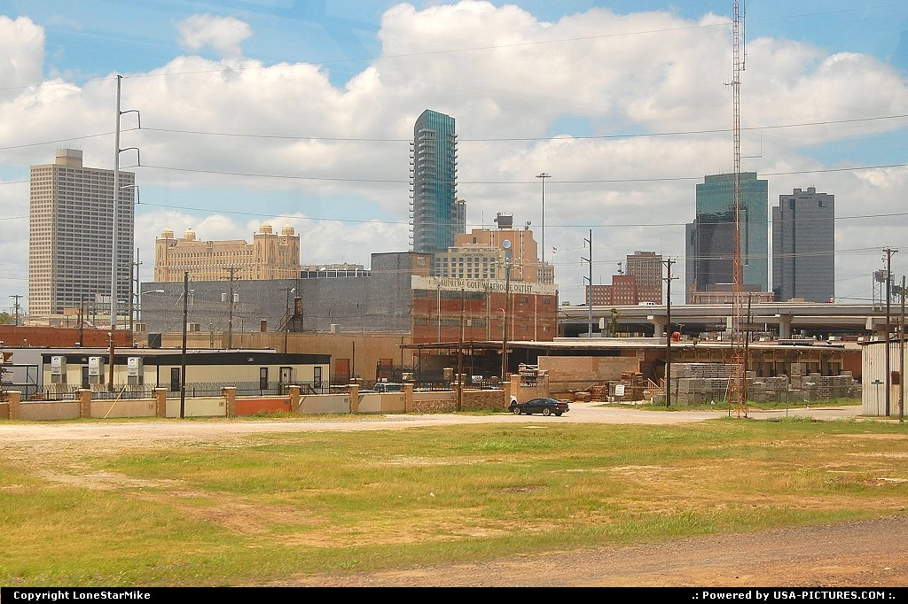 Picture by LoneStarMike: Fort Worth Texas   downtown, skyline, skyscraper