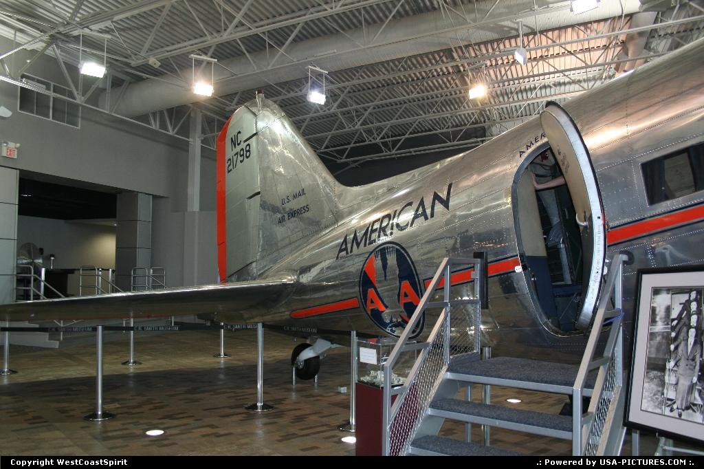 Picture by WestCoastSpirit: Fort Worth Texas   plane, aa, douglas, dc-3, dakota, american