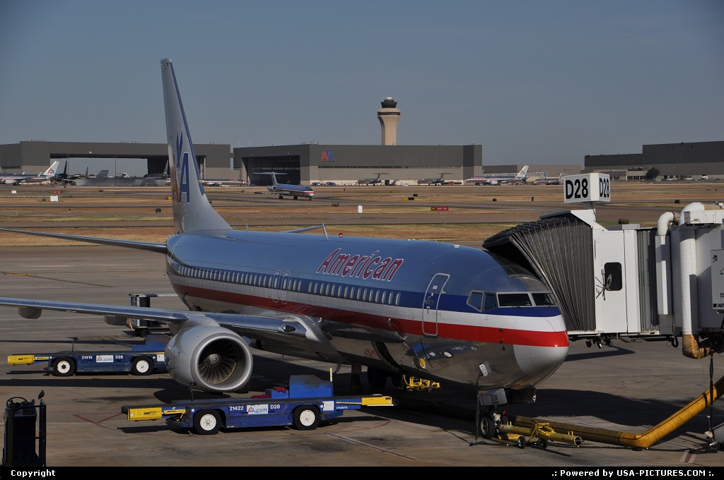 Picture by WestCoastSpirit: Grapevine Texas   dfw, aa, american, boeing, 737, md 80