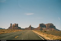 Road Trip, arriving Monument Valley