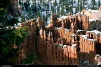 Photo by elki |  Bryce Canyon canyon, snow